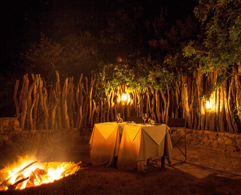 Dining - Camp Figtree, Addo National Park